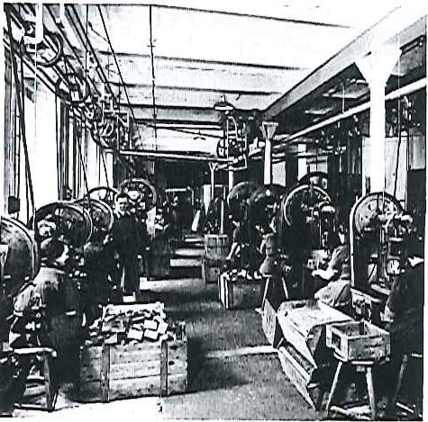 Beginn der Produktion