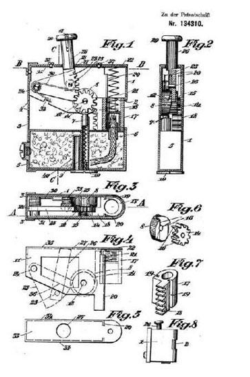 Erstes Patent